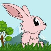 疯狂的兔子赛跑冠军 - 真棒快速自来水跳跃类游戏 1.4