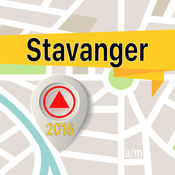 Stavanger 离线地图导航和指南 1