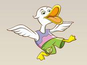 可爱可爱的鸭子贴纸:植物很棒! 1