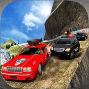 越野警车司机大通:真正的驾驶及动作射击游戏 1