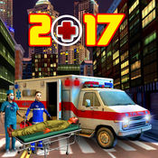 911城市紧急救援救护车司机Sim 3D 1