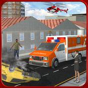 911紧急救护车司机的职责:消防队员救援车 1