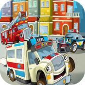 911紧急赛车! 救护车救援 1.3