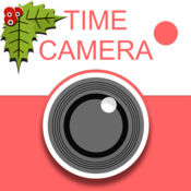 咔叽相机 - 可移动的艺术字体记录拍照日期