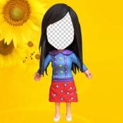 FigureFace -公仔面 Bobblehead Face Photo Stickers