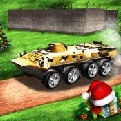 越野 8 惠军卡车驾驶游戏 2017年 3D-我们军队转运货物上山爬