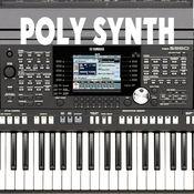 保利合成器(低延迟)Polyphony synthesizer with a low delay (low latency musical synth) and distortion HD version