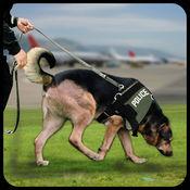 城市警犬罪逮捕救援机场刑事责任3D