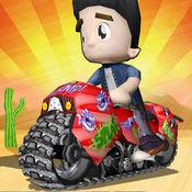 越野土自行车trax- 3d越野赛车游戏 1