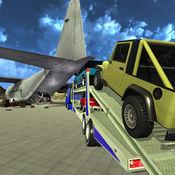 越野吉普车:飞机货舱