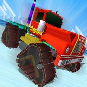 越野半卡车赛车 - 自由卡车赛车游戏