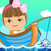 艾米钓鱼小游戏,...