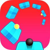 之字形扭曲 — — 跳球扭轮球与球粉碎和果冻球无休止的平台跳线免费