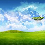 天堂高清壁纸收藏图库-个性名言主题背景 1