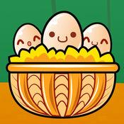 加菲猫捡鸡蛋
