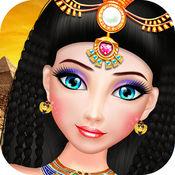 埃及公主化妆及沙龙 - 埃及娃娃游戏