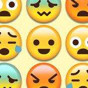 绘文字游乐园世界 - 史上最好最可爱的Emoji表情符号对对碰