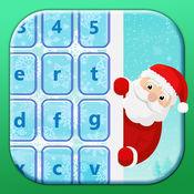 圣诞 键盘主题 颜色 可爱 表情符号 1