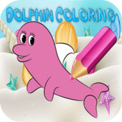 鱼 着色 绘画与 书为 孩子 学习 技能 1