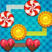 """""""糖果连接甜点路径 - 免费的逻辑游戏 1"""