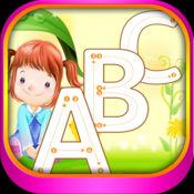 abc 字母 图画书 幼儿学习写和画 字母 字母在英语与许多图