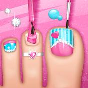 修脚游戏的女孩 - 创建的指甲设计在虚拟美甲沙龙 1.4