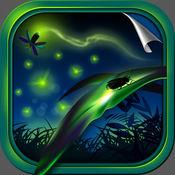 萤火虫 壁纸 – 萤火 主题 发光 背景 和 锁屏 1