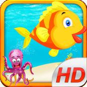 Flippy Floppy Fish - 多人实时飞扬的鸟鱼深的海洋! 1