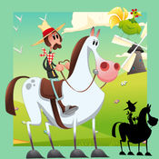 惊人的儿童游戏与农场动物:益智马,猪-S和小宠物 1