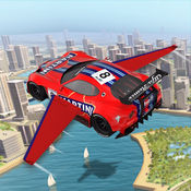 飞行 特技 汽车 模拟器 : 未来派 车辆 1