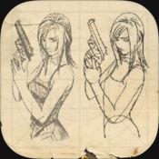 学画漫画:女性角色的画法 1