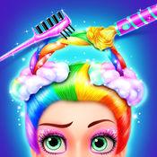 彩虹美发沙龙-女孩换装游戏 1.1