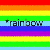 彩虹音乐壁纸适...