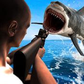 愤怒的鲨鱼狩猎 — — 矛钓鱼英雄 1