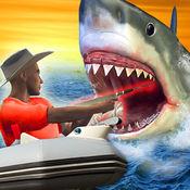致命,鲨鱼,狩猎,复...