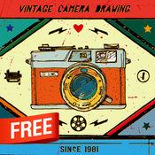 复古风格相机 - 免费 2