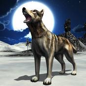 愤怒的雪狼2016 - 3D野生动物捕食阿尔法追求模拟游戏 1