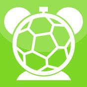 足球闹钟 - 你与世界杯的声音数字时钟。晚上睡觉,并用你喜