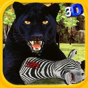 真正的黑豹3D - 野生丛林捕食者攻击的动物狩猎模拟游戏 1