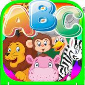 动物a-z字母跟踪闪光卡为孩子们 1.0.1