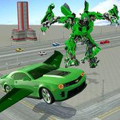 真实 机器人 战斗 VS 飞行 汽车 游戏 1