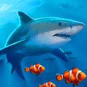 深海水族箱-大鱼...