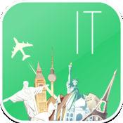 意大利 离线地图和航班。机票,机场,汽车租赁,酒店预订。免费导航。