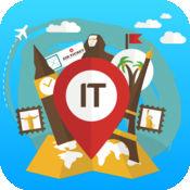 意大利 离线旅游指南和地图。城市观光 罗马,威尼斯,佛罗伦