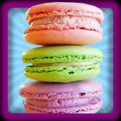 马卡龙饼干制造商 - 疯狂的厨房烹饪的糖果和点心食谱疯狂