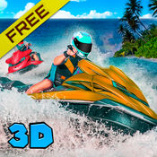 水上摩托船赛跑: 游泳的模拟器3D 1.1