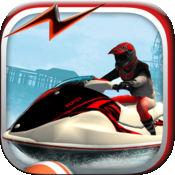 喷气滑雪速度赛 - 疯狂滑雪游戏免费 1.1
