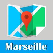 马赛旅游指南地铁去哪儿法国地图 Marseille metro gps map