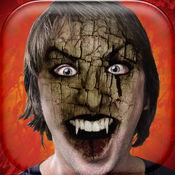 可怕的面孔 – 有趣的照片蒙太奇和效果与吸血鬼的脸 1