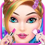 粉红公主化妆 - 小女孩的游戏 3